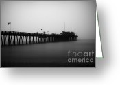 Paul Topp Greeting Cards - Capitola Wharf Greeting Card by Paul Topp