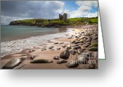 Minard Greeting Cards - Castle Minard Greeting Card by Juergen Klust