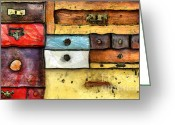 Undercover Greeting Cards - Chest Of Drawers Greeting Card by Michal Boubin