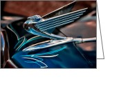 Christopher Holmes Greeting Cards - Chrome Wings Greeting Card by Christopher Holmes