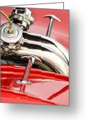 Oldfashioned Greeting Cards - Chromed Hooks Greeting Card by Carolyn Marshall