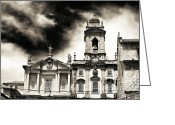 Sculptures For Sale Photo Greeting Cards - Church of Sao Francisco Greeting Card by John Rizzuto