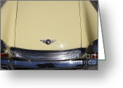 Austin Healey Photo Greeting Cards - Classic Austin Healey Convertible 5D23601 Greeting Card by Wingsdomain Art and Photography