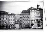 Sculptures For Sale Photo Greeting Cards - Classic Porto Greeting Card by John Rizzuto
