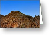Hdr Look Photo Greeting Cards - Cliffside Greeting Card by Michele Stoehr