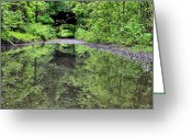 Country Dirt Roads Photo Greeting Cards - Country Roads in the City Greeting Card by JC Findley