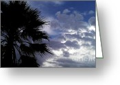 Darken Greeting Cards - Desert Weather Greeting Card by Chris Tarpening