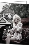 Dolly Parton Greeting Cards - Dollys Parade Greeting Card by Brian Graybill