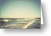 Terry Deluco Greeting Cards - Down the Shore Greeting Card by Terry DeLuco