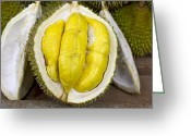 Durian Greeting Cards - Durian Greeting Card by David Gn