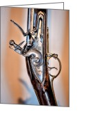 Ocularperceptions Greeting Cards - Flintlock Greeting Card by Christopher Holmes