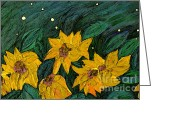 Jrr Greeting Cards - For Vincent by jrr Greeting Card by First Star Art
