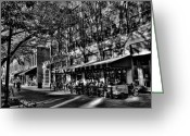 Rita Greeting Cards - Four Market Square in Knoxville Greeting Card by David Patterson