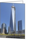 Angela Stanton Greeting Cards - Freedom Tower Greeting Card by Angela A Stanton