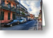 African Heritage Greeting Cards - French Quarter Greeting Card by Sennie Pierson