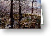 Photorealism Greeting Cards - Frozen In Time Greeting Card by Tom Druin