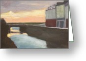 Co Galway Greeting Cards - Galway Sunrise Greeting Card by Sarah Vandenbusch