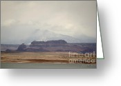 Lake Greeting Cards - Glen Canyon Page AZ No. 6 Greeting Card by Dave Gordon