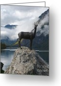 Lake Bohinj Greeting Cards - Goldenhorn Bohinj Greeting Card by Phil Banks