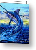 Hatteras Greeting Cards - Grander Greeting Card by Carey Chen