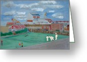 East Anglia Painting Greeting Cards - Great Yarmouth Britannia Pier Greeting Card by Michelle Archer