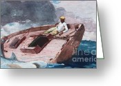 "\\\\\\\""storm Prints\\\\\\\\\\\\\\\"" Painting Greeting Cards - Gulf Stream 2 Greeting Card by Pg Reproductions"