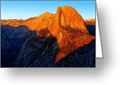 Parks Greeting Cards - Half Diome Glow II Greeting Card by Peter Tellone