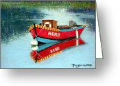 Realistic Pastels Greeting Cards - Hero Greeting Card by Tanja Ware