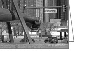 Renaissance Center Greeting Cards - Homage to Joe Lewis bw Greeting Card by Ann Horn