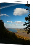 Nestled In Greeting Cards - Honeoye Lake view Greeting Card by Steve Clough