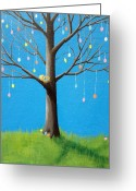 Easter Card Greeting Cards - Hope Greeting Card by Kirsten Gilmore