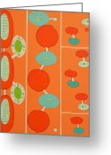 Debra Jacobson Greeting Cards - Integral Sequence Greeting Card by Debra Jacobson