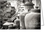 Jugs Greeting Cards - Jugs of Life Greeting Card by Greg Schneider