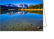 Aspen Trees Greeting Cards - June Lake California Greeting Card by Scott McGuire