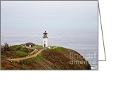 Scott Pellegrin Greeting Cards - Kilauea Lighthouse Greeting Card by Scott Pellegrin
