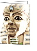 Amusement Ride Greeting Cards - King Tut Greeting Card by Caitlyn  Grasso