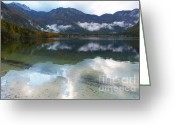 Lake Bohinj Greeting Cards - Lake Bohinj Greeting Card by Phil Banks