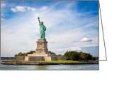 Tisdale Greeting Cards - Liberty Enlightening The World Greeting Card by Mark E Tisdale