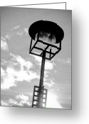 Rennie Greeting Cards - Mackintosh Streetlamp Greeting Card by Alan Oliver