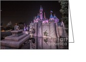 Anaheim California Greeting Cards - Magical Disney Greeting Card by Shishir Sathe
