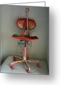 Science Fiction Sculpture Greeting Cards - Modern Sculpture Greeting Card by Trevor R Plummer