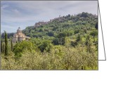 Sanctuary Greeting Cards - Montepulciano Greeting Card by Joana Kruse