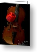 Fielding Greeting Cards - Music Lover Greeting Card by Edward Fielding