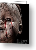 Frighten Greeting Cards - Neglected Greeting Card by JT PhotoDesign