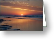 Bill Cannon Greeting Cards - New Jersey Sunrise Greeting Card by Bill Cannon
