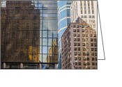 Angela Stanton Greeting Cards - New York Reflections 12 Greeting Card by Angela A Stanton
