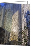 Angela Stanton Greeting Cards - New York Reflections 9 Greeting Card by Angela A Stanton