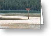 National Mixed Media Greeting Cards - No Vehicles Beyond This Point - Idaho Back Roads Greeting Card by Photography Moments - Sandi