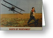Robert Harmon Greeting Cards - North By Northwest Greeting Card by Robert Harmon