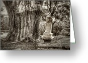 Grave Greeting Cards - Old Friends Greeting Card by Scott Norris